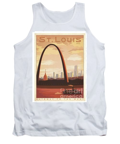St. Louis Mo. Gateway To The West Tank Top