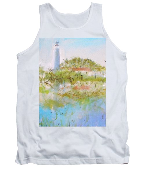 St Marks Lighthouse Tank Top