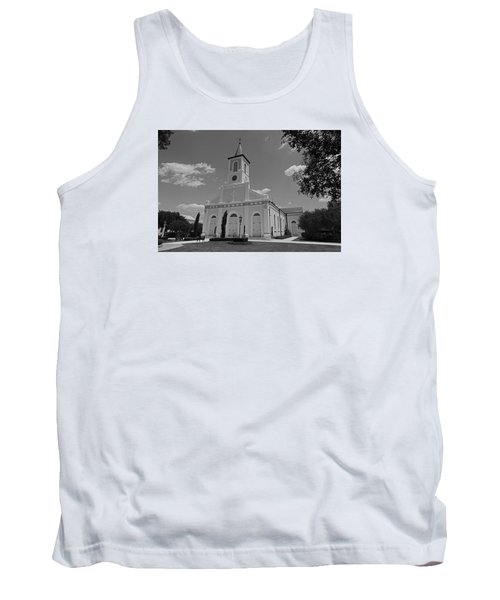 St. Martinville Church Tank Top by Ronald Olivier
