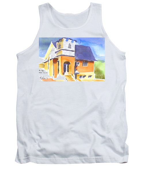 St Paul Lutheran 3 Tank Top by Kip DeVore