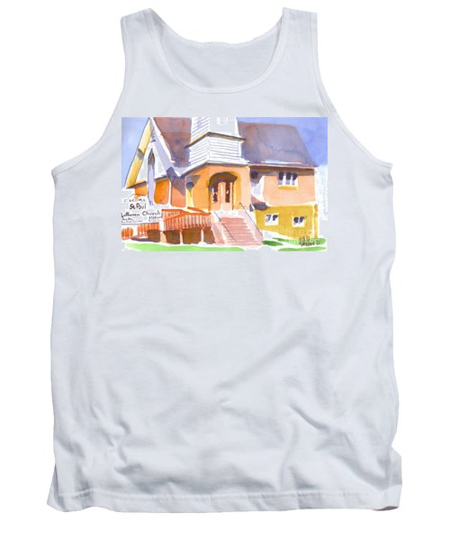 St. Paul Lutheran Ironton Missouri Tank Top by Kip DeVore