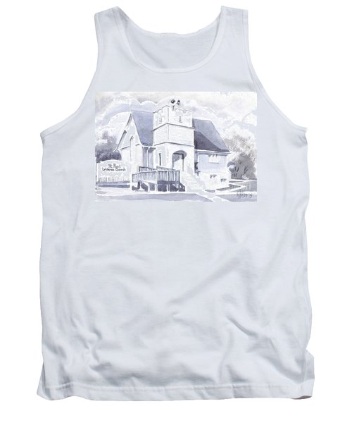 St. Paul Lutheran Church 2 Tank Top by Kip DeVore
