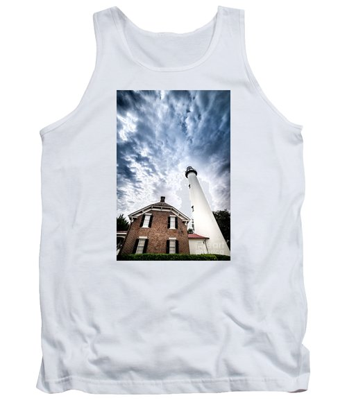 St Simons Lighthouse Tank Top