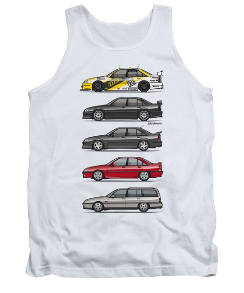 Stack Of Opel Omegas Vauxhall Carlton A Tank Top
