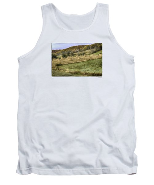Tank Top featuring the photograph Stacked by R Thomas Berner