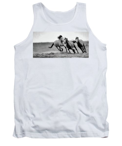 Tank Top featuring the photograph Stallion  by Kelly Marquardt