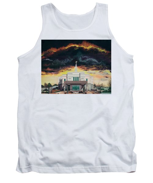 Tank Top featuring the painting Stand In Holy Places by Jane Autry