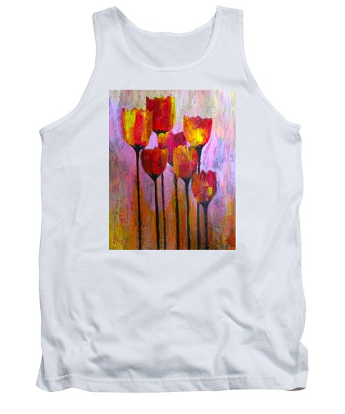 Stand Up And Shine Tank Top by Terry Honstead