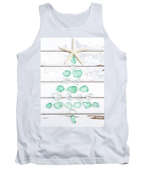 Starfish Christmas Tree Tank Top