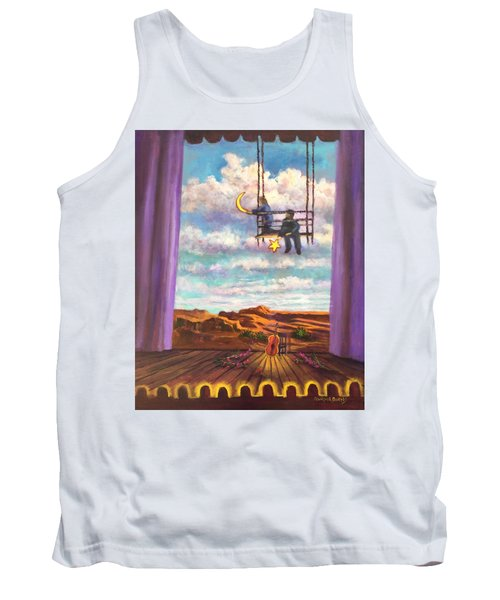 Starry Day Tank Top by Randy Burns