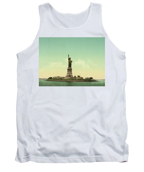 Statue Of Liberty, New York Harbor Tank Top