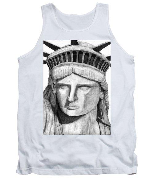 Statue Of Liberty Selfie Tank Top