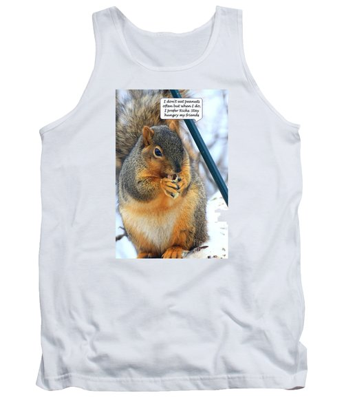 Stay Hungry Tank Top