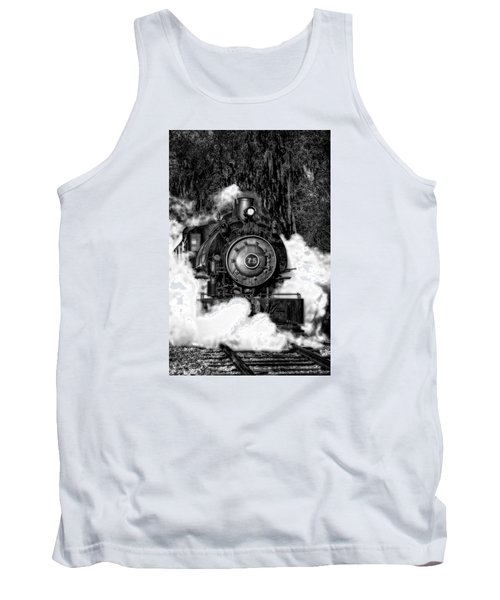 Steam Engine Jan 2016 In Hdr Tank Top by Michael White