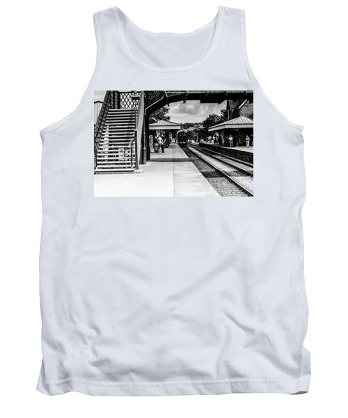 Steam Train In The Station Tank Top
