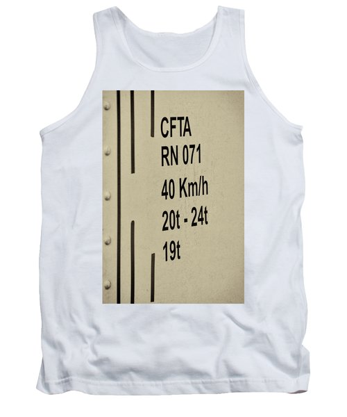 Tank Top featuring the photograph Steam Train Series No 30 by Clare Bambers