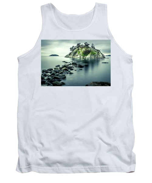 Steely Day At Whytecliff Tank Top