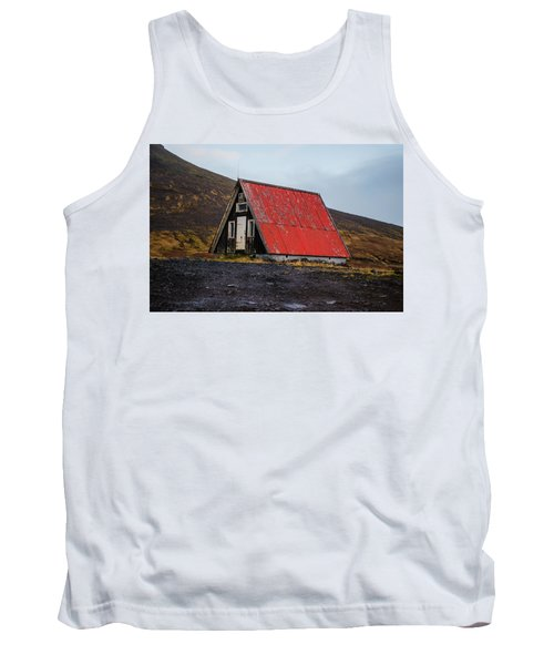 Steep Roof Barn Western Iceland Tank Top