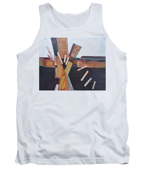 Stepping Up Tank Top by Nancy Jolley