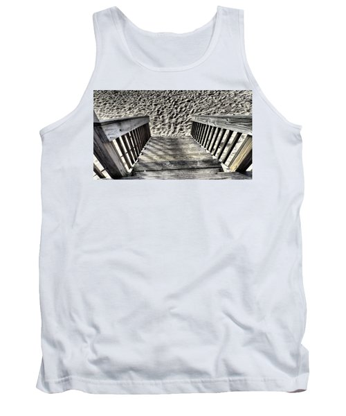 Steps To The Beach Tank Top