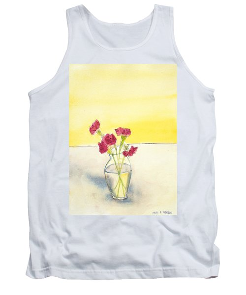 Still Life With Roses Tank Top