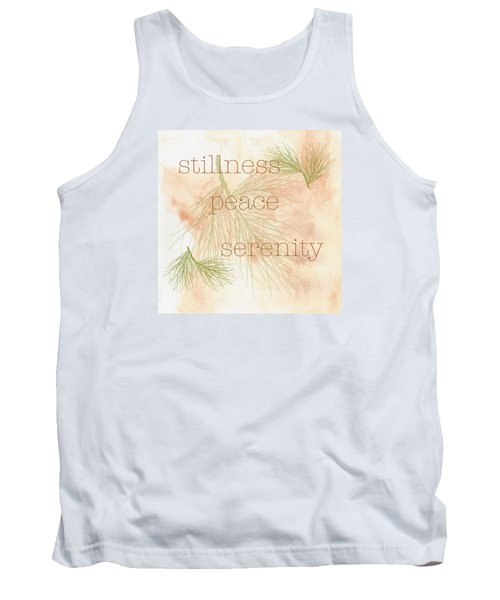 Tank Top featuring the painting Stillness  by Kandy Hurley