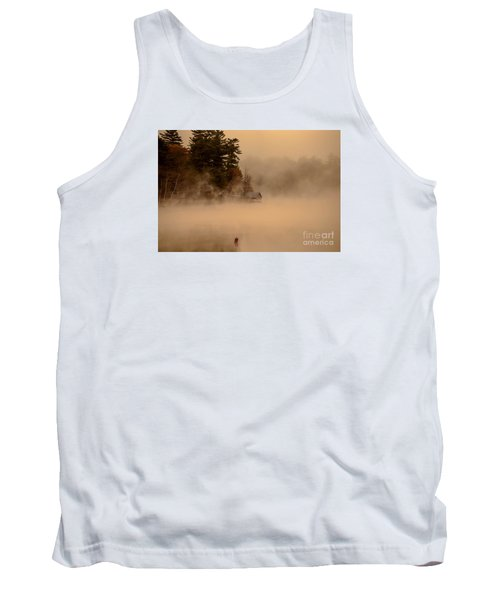 Stillness Of Autumn Tank Top by Sherman Perry