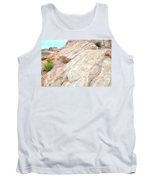 Tank Top featuring the photograph Stone Feet In Valley Of Fire by Ray Mathis