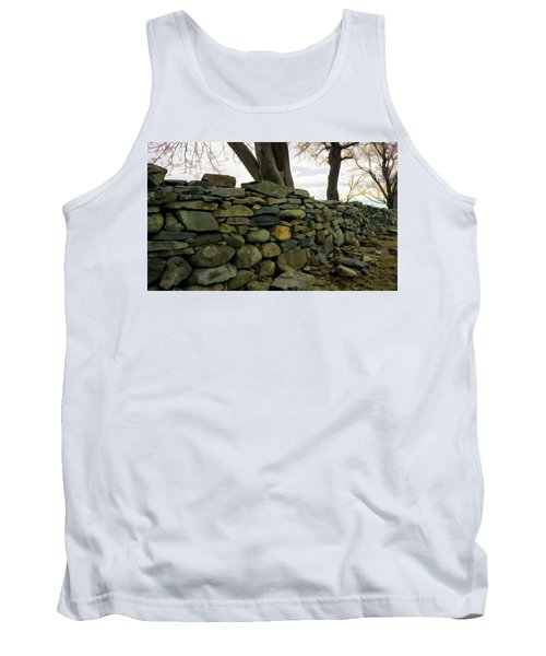 Stone Wall, Colt State Park Tank Top