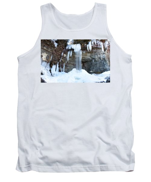 Tank Top featuring the photograph Stony Kill Falls In February #1 by Jeff Severson