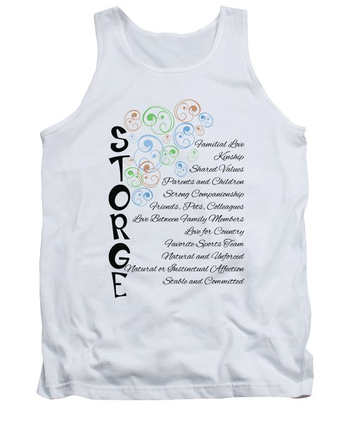 Storge- Familial Love Tank Top