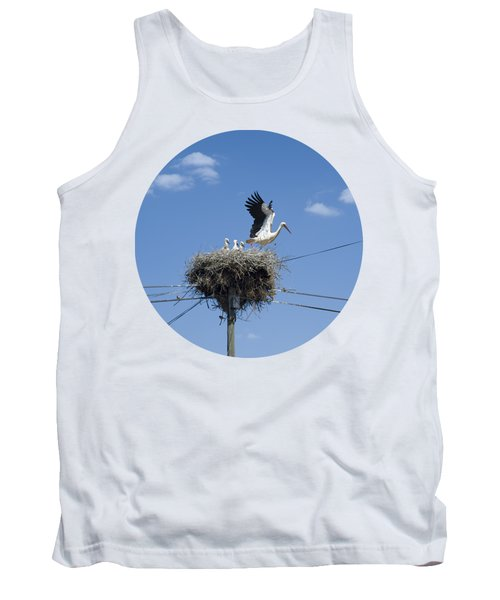 Storks Nest Alentejo Tank Top by Mikehoward Photography