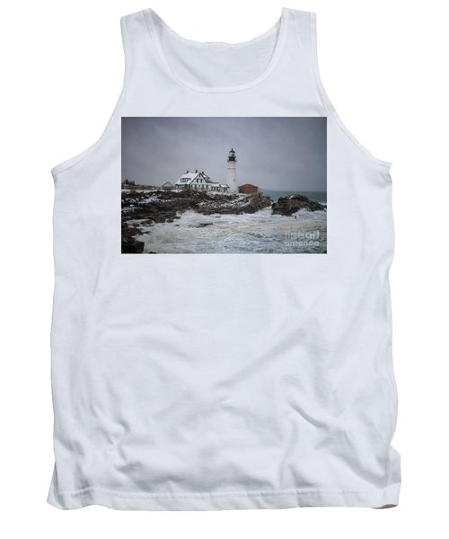Stormy Portland Head Light Tank Top