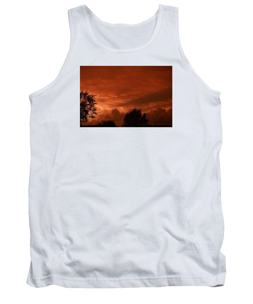 Tank Top featuring the photograph Stormy Sunset by Nikki McInnes