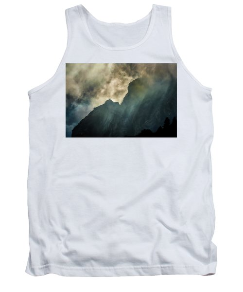 Stormy Wasatch- Rays Tank Top