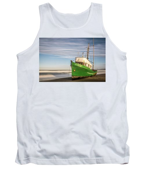 Stranded On The Beach Tank Top
