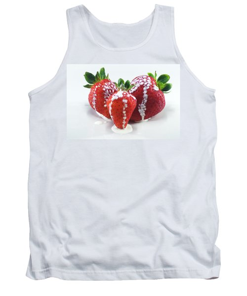 Strawberries And Cream Tank Top