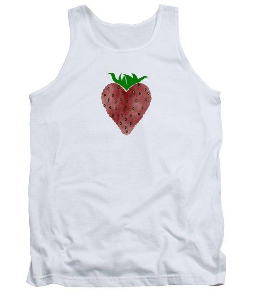 Strawberries Tank Top by Kathleen Sartoris