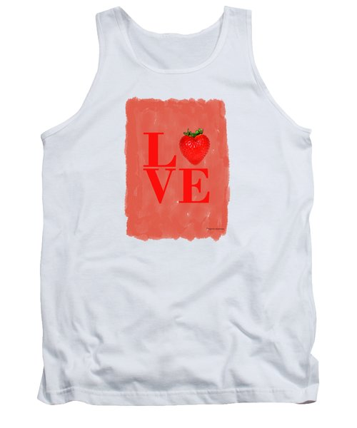 Strawberry Tank Top by Mark Rogan