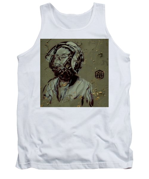 Tank Top featuring the painting Street Art by Sheila Mcdonald