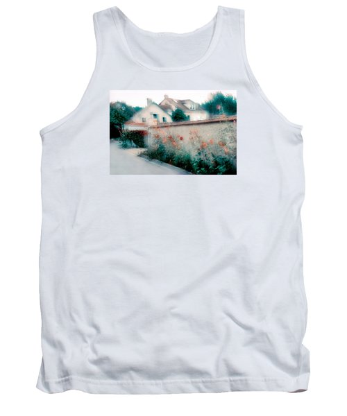 Tank Top featuring the photograph Street In Giverny, France by Dubi Roman