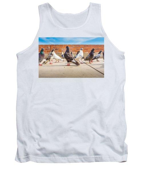 Street Pigeons. Tank Top