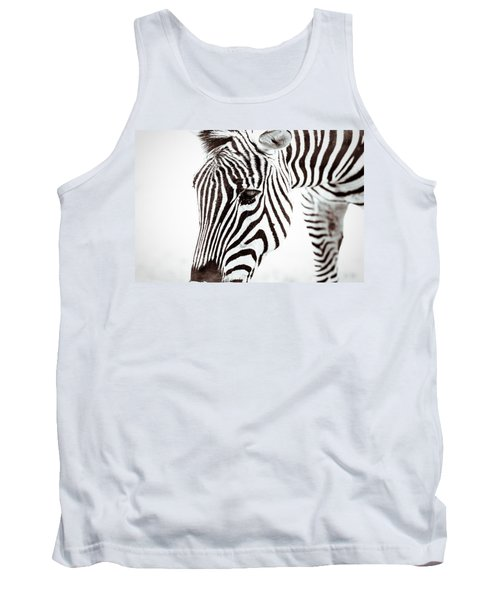 Tank Top featuring the photograph Striped by Wade Brooks