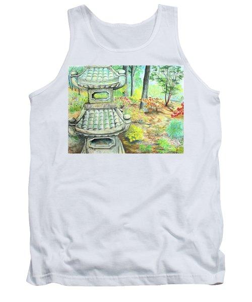 Strolling Through The Japanese Garden Tank Top
