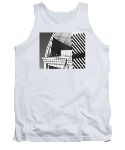 Tank Top featuring the photograph Structure Abstract 3 by Cheryl Del Toro