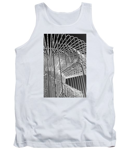 Tank Top featuring the photograph Structure Abstract 4 by Cheryl Del Toro