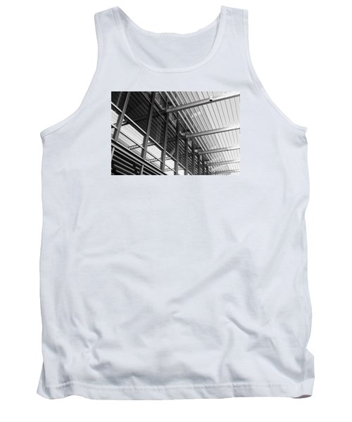 Tank Top featuring the photograph Structure Abstract 9 by Cheryl Del Toro