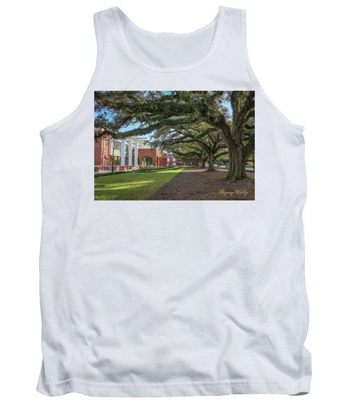 Student Union Oaks Tank Top by Gregory Daley  PPSA