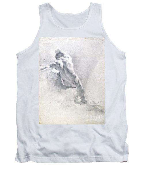 Study Of A Male Nude Tank Top