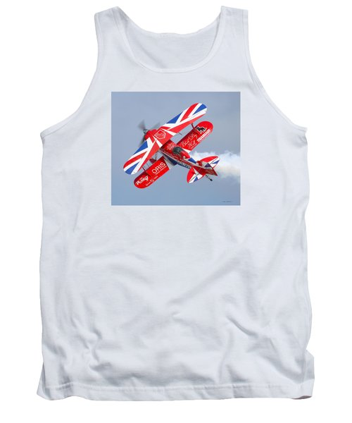 Tank Top featuring the photograph Stunt Plane by Roy  McPeak